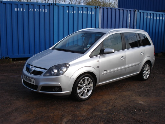 Vauxhall Zafira 7 Seater Estate Car For Sale Knw Group Car Hire